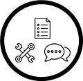 Access conversations, files, and tools in a team workspace